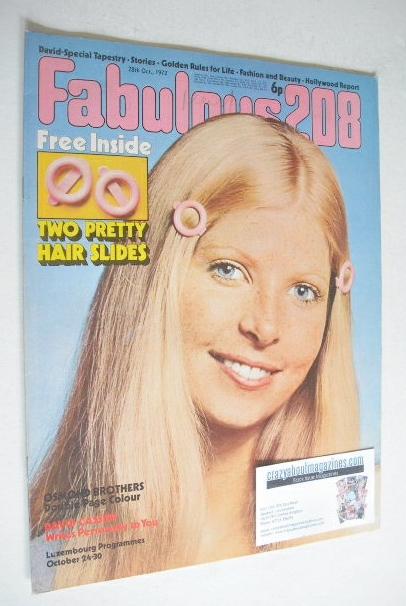 <!--1972-10-28-->Fabulous 208 magazine (28 October 1972)