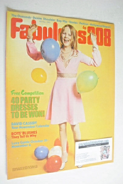 <!--1972-11-04-->Fabulous 208 magazine (4 November 1972)