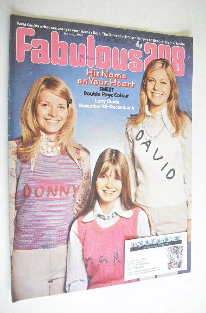 <!--1972-12-02-->Fabulous 208 magazine (2 December 1972)