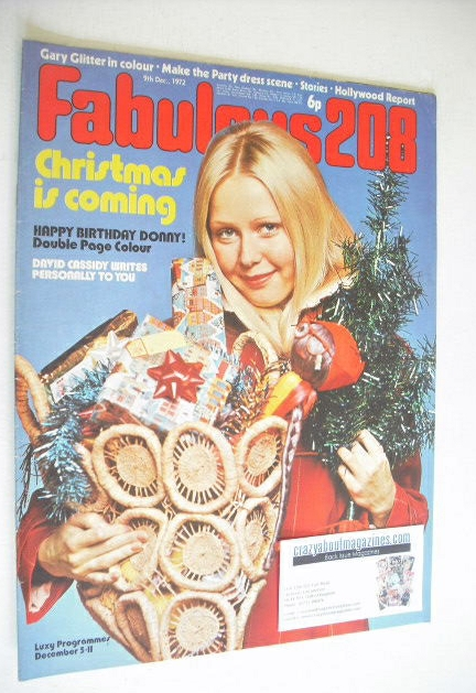 <!--1972-12-09-->Fabulous 208 magazine (9 December 1972)
