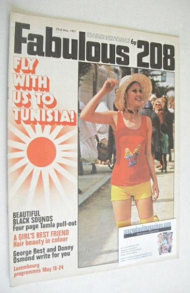 <!--1971-05-22-->Fabulous 208 magazine (22 May 1971)