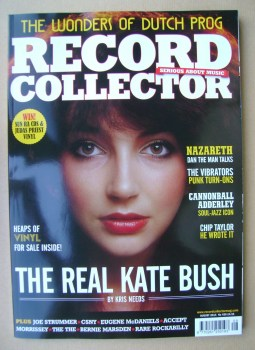 Record Collector - Kate Bush cover (August 2014)