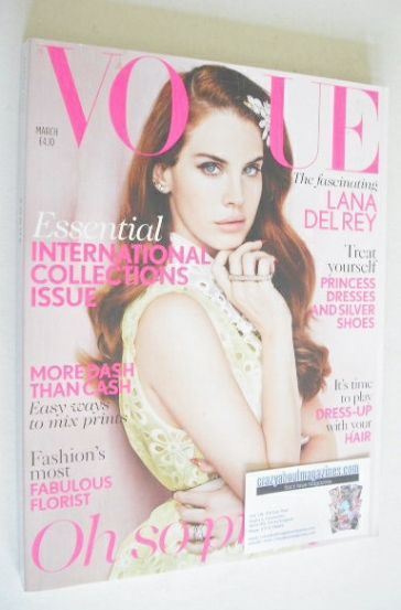 <!--2012-03-->British Vogue magazine - March 2012 - Lana Del Rey cover