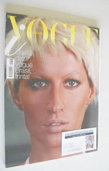 <!--2005-01-->Vogue Brazil magazine - January 2005 - Gisele Bundchen
