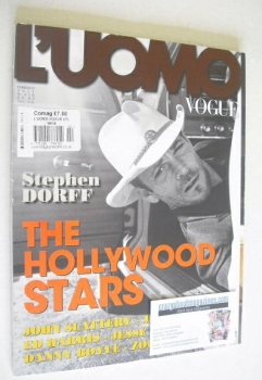L'Uomo Vogue magazine - February 2011 - Stephen Dorff cover