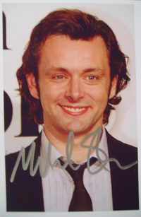 Michael Sheen autograph