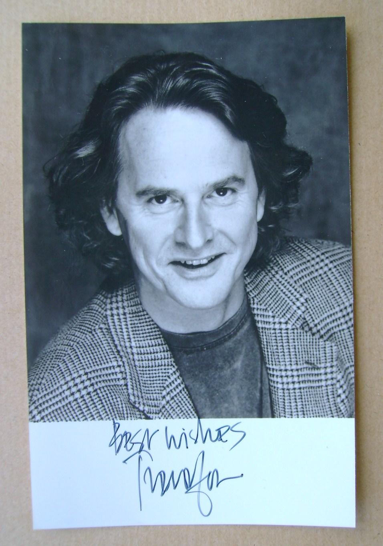 Trevor Eve autograph (hand-signed photograph)