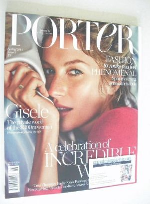 <!--2014-04-->Porter magazine - Gisele Bundchen cover (Spring 2014 - Issue