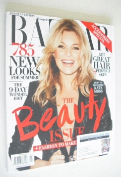 Harper's Bazaar magazine - May 2014 - Kate Moss cover