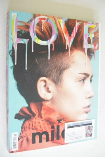<!--2014-04-->Love magazine - Issue 11 - Spring/Summer 2014 - Miley Cyrus c
