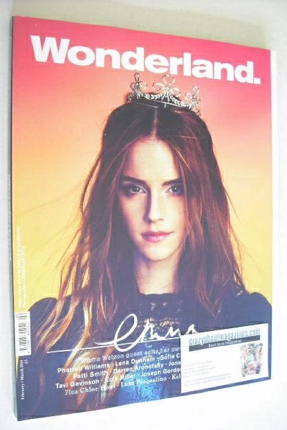 <!--2014-02-->Wonderland magazine - February/March 2014 - Emma Watson cover