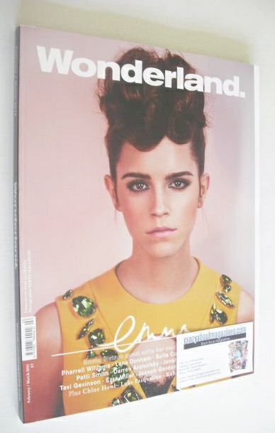 <!--2014-02-->Wonderland magazine - February/March 2014 - Emma Watson cover