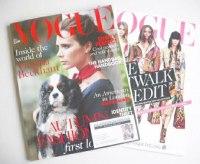 <!--2014-08-->British Vogue magazine - August 2014 - Victoria Beckham cover (Cover 2/2)