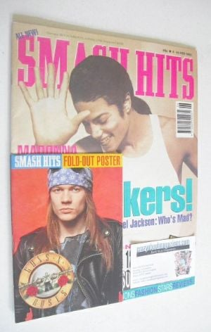 <!--1992-02-05-->Smash Hits magazine - Michael Jackson cover (5-18 February
