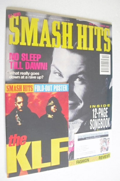 <!--1992-03-04-->Smash Hits magazine - Christian Slater cover (4-17 March 1