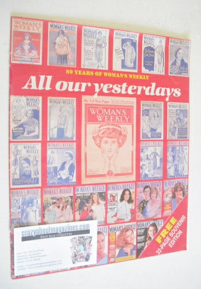 <!--1991-01-->Woman's Weekly supplement (All Our Yesterdays)