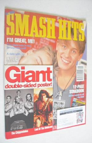 <!--1992-11-25-->Smash Hits magazine - Gary Barlow and Mark Owen cover (25