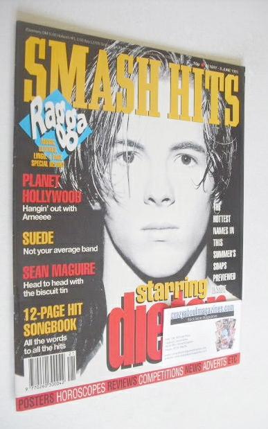 <!--1993-05-26-->Smash Hits magazine - Dieter Brummer cover (26 May - 8 Jun