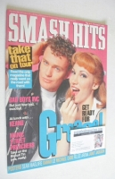 <!--1993-08-04-->Smash Hits magazine - Debbie Gibson and Craig McLachlan cover (4-17 August 1993)
