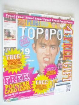 Top Of The Pops magazine - Damon Albarn cover (October 1995)