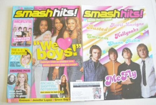 <!--2005-01-19-->Smash Hits magazine - Destiny's Child cover (19 January -