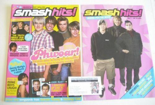 <!--2005-01-07-->Smash Hits magazine - McFly cover (7-18 January 2005)