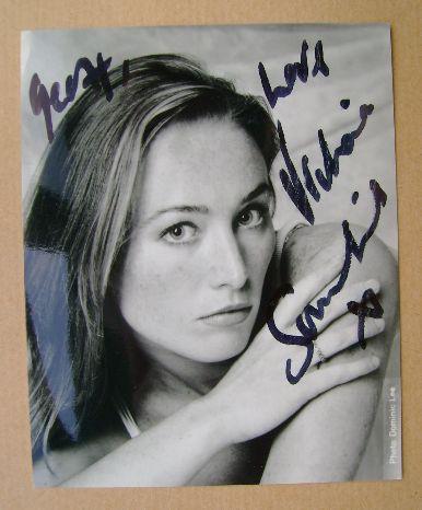 Victoria Smurfit autograph