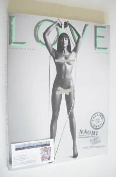 Love magazine - Issue 3 - Spring/Summer 2010 - Naomi Campbell cover