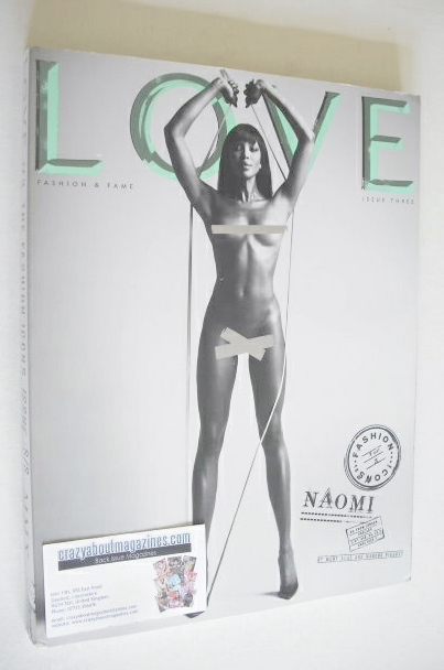 <!--2010-04-->Love magazine - Issue 3 - Spring/Summer 2010 - Naomi Campbell