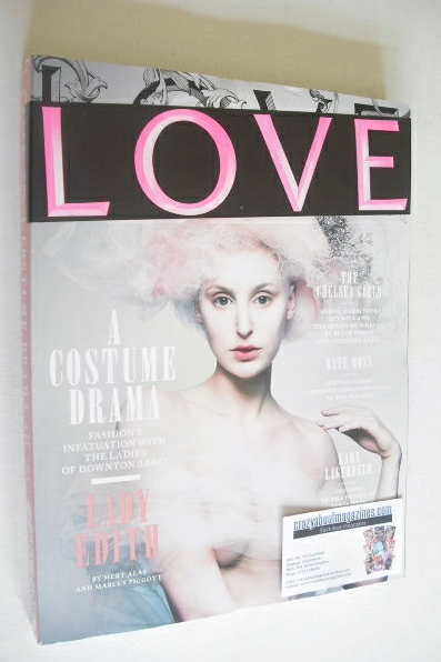 <!--2012-09-->Love magazine - Issue 8 - Autumn/Winter 2012 - Lady Edith cov
