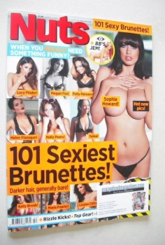 Nuts magazine - Sophie Howard cover (21-27 October 2011)