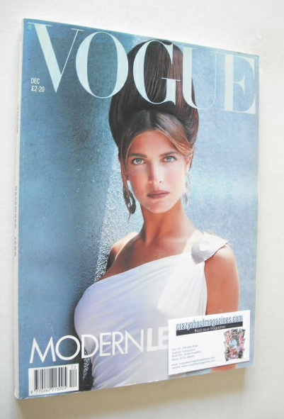 <!--1988-12-->British Vogue magazine - December 1988 - Stephanie Seymour co