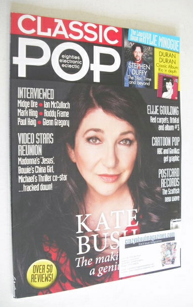 <!--2014-06-->Classic Pop magazine - Kate Bush cover (June/July 2014)