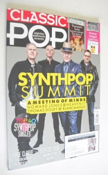 Classic Pop magazine - Synthpop Summit cover (April/May 2014)