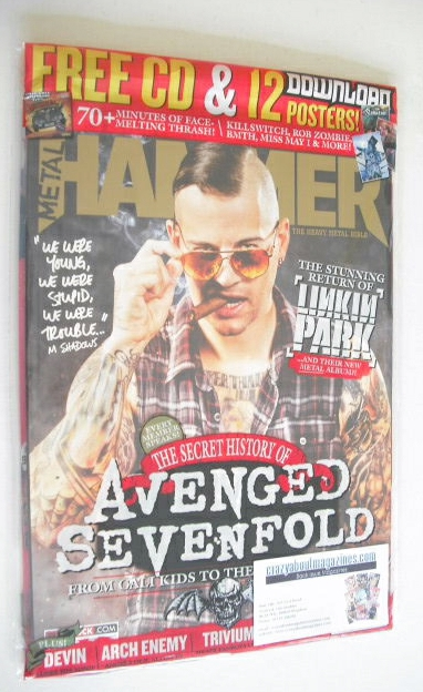 <!--2014-07-->Metal Hammer magazine - Avenged Sevenfold cover (July 2014)