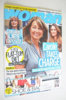 Woman magazine - Carole Middleton cover (10 February 2014)