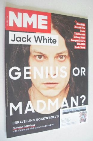 <!--2014-06-14-->NME magazine - Jack White cover (14 June 2014)