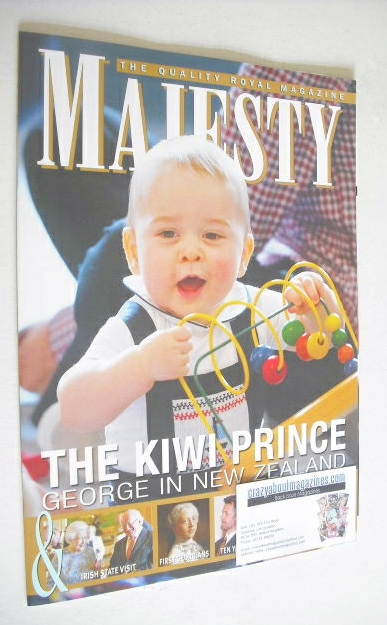 <!--2014-05-->Majesty magazine - Prince George cover (May 2014)