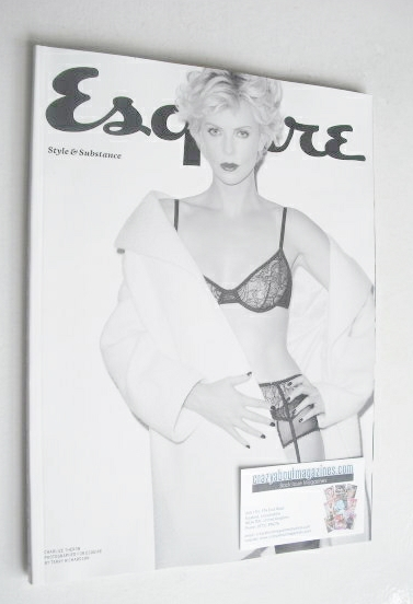 <!--2014-07-->Esquire magazine - Charlize Theron cover (July 2014 - Subscri