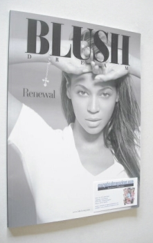 Blush Dream magazine - Beyonce Knowles cover (Winter 2013)