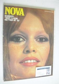 NOVA magazine - April 1970 - Brigitte Bardot cover