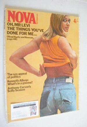 <!--1970-09-->NOVA magazine - September 1970