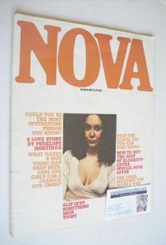 NOVA magazine - March 1975 - Marie Helvin cover