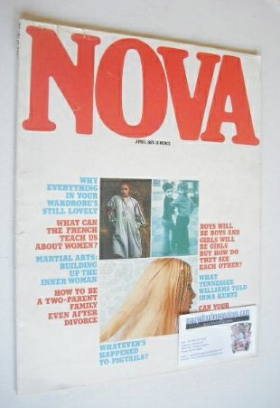 <!--1975-04-->NOVA magazine - April 1975