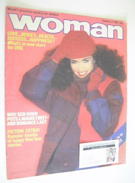 <!--1981-01-03-->Woman magazine (3 January 1981)