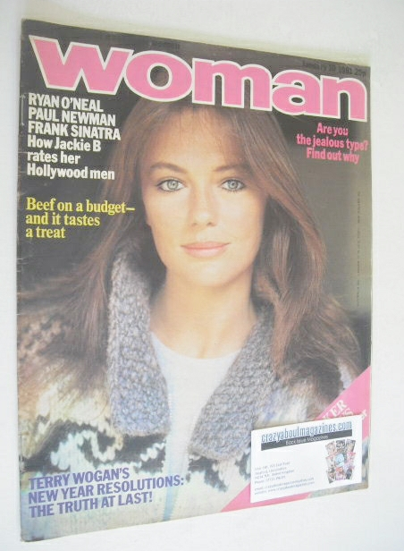 <!--1981-01-10-->Woman magazine - Jacqueline Bisset cover (10 January 1981)