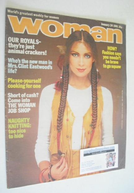 <!--1981-01-24-->Woman magazine (24 January 1981)