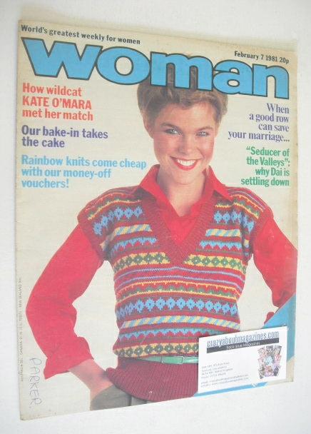 <!--1981-02-07-->Woman magazine (7 February 1981)
