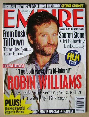 <!--1996-06-->Empire magazine - Robin Williams cover (June 1996 - Issue 84)