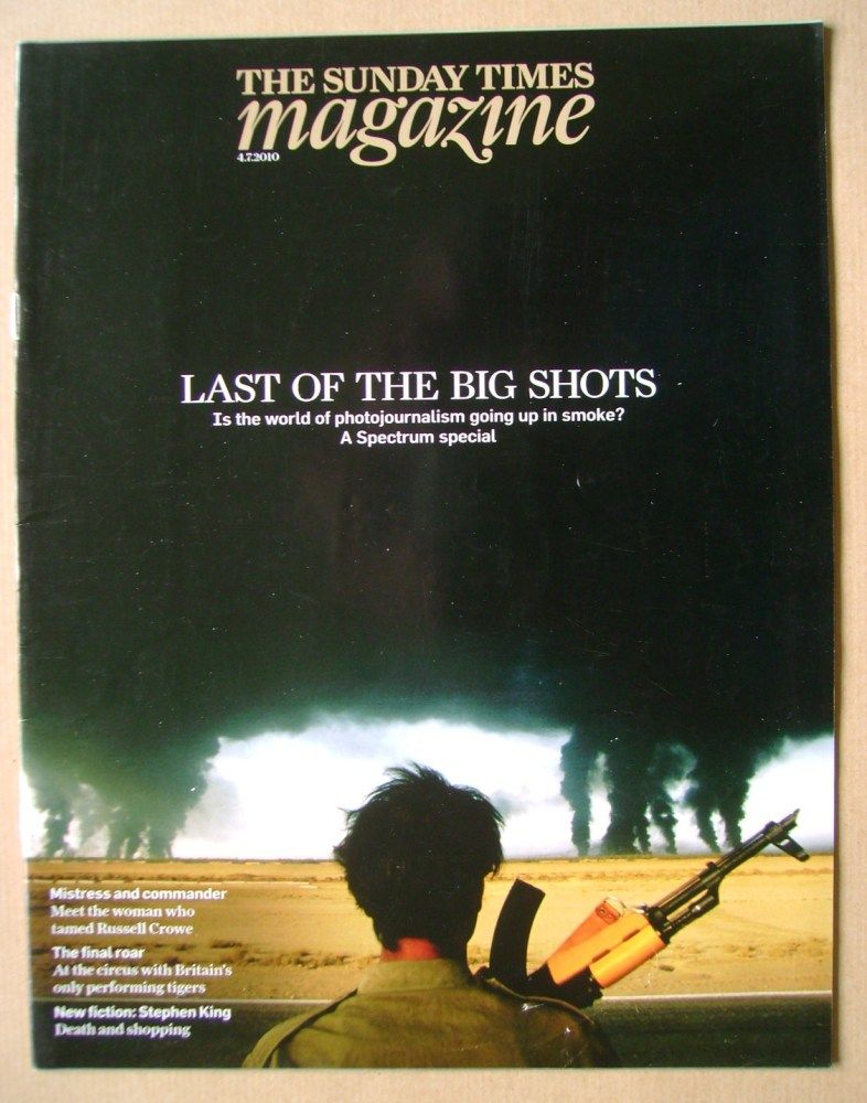 <!--2010-07-04-->The Sunday Times magazine - Last of the Big Shots cover (4